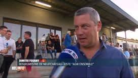 RTL INFO 13H : A Neuchâteau, Dimitri Fourny perd sa majorité absolue
