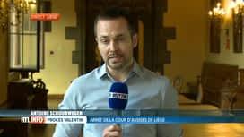 RTL INFO 19H : Procès des bourreaux de Valentin: les peines vont tomber