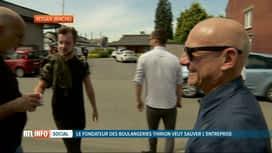 RTL INFO 19H : L'ex-patron de la boulangerie Thirion, en faillite, veut la sauver