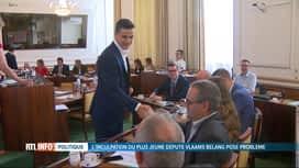 RTL INFO 19H : Les Francophones ne veulent pas voir Dries Van Langenhoven au perchoir