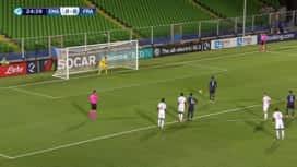 UEFA U21 EURO 2019 : Angleterre U21 - France U21 (25') : pénalty manqué par Moussa Dembélé