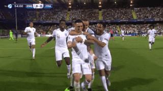 Angleterre U21 - France U21 (55') : but de Phil Foden