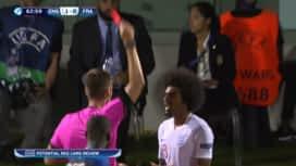UEFA U21 EURO 2019 : Angleterre - France (63') : pénalty et carton rouge pour Hamza Choudhury