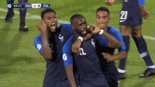 Angleterre U21 - France U21 (89') : but de Jonathan Ikoné