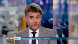 RTL INFO 13H : Des orages traverseront le pays cet après-midi