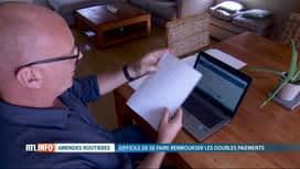RTL INFO 13H : Couacs dans le paiement en ligne des amendes routières