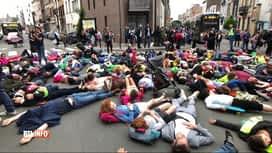 RTL INFO 13H : Action symbolique pour plus de sécurité routière à Schaerbeek