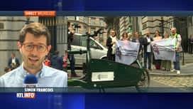 RTL INFO 13H : Actions pour rappeler l'urgence climatique aux nouveaux députés