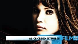 Alice Creed eltűnése en replay
