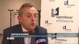 RTL INFO 19H : La Justice réclame plus de moyens au monde politique