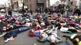 RTL INFO 19H : Action symbolique pour plus de sécurité routière à Schaerbeek