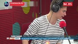 RTL INFO sur Bel RTL : RTL Info 8h du 21/06