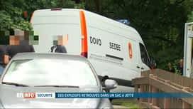 RTL INFO 19H : Découverte d'une petite quantité d'explosifs à Jette