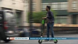 RTL INFO 19H : Conseils pour rouler en trottinette électrique en toute sécurité