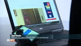 RTL INFO 13H : Des lanceurs d'alerte traquent les pédophiles sur internet