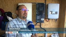 RTL INFO 13H : Des panneaux photovoltaïques provoquent une surtension
