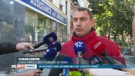 RTL INFO 13H : 3 morts dans l'incendie d'un immeuble à Paris ce matin