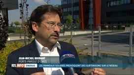 RTL INFO 19H : Des panneaux photovoltaïques provoquent une surtension