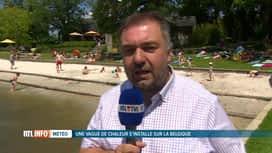 RTL INFO 13H : Chaleur : 21 zones de baignade sont ouvertes au public en Wallonie