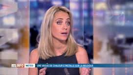 RTL INFO 13H : Les pévisions météo des prochains jours avec Emilie Dupuis