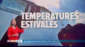 RTL INFO 19H : Les pévisions météo des prochains jours avec Amélie Schildt