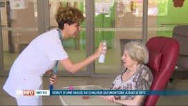 RTL INFO 13H : Canicule: des règles strictes dans les hôpitaux et maisons de repos