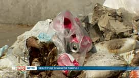 RTL INFO 19H : Des déchets abandonnés en plein soleil près d'une école d'Anderlecht