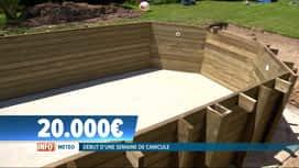 RTL INFO 19H : La vente de piscines privées explose