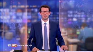 RTL INFO 19H : RTL INFO 19 heures (24/06/2019)