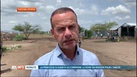 RTL INFO 13H : Le point sur la mission de la princesse Elisabeth au Kenya