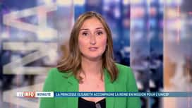 RTL INFO 13H : Amélie Schildt commente la mission de la princesse Elisabeth au Kenya