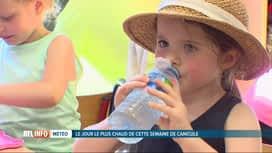 RTL INFO 13H : Canicule: les bambins de maternelles incommodés par la chaleur