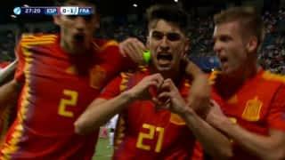 Espagne U21 - France U21 (28') : but de Marc Roca