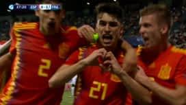 UEFA U21 EURO 2019 : Espagne U21 - France U21 (28') : but de Marc Roca