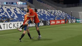 Espagne U21 - France U21 (47') : but de Daniel Olmo