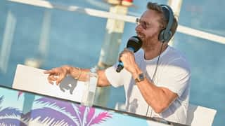 David Guetta sur Fun Radio à Ibiza (28/06/19)
