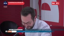 La matinale Bel RTL : RTL Info 8h du 05/07