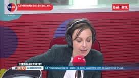 RTL INFO sur Bel RTL : RTL Info 8h du 09/07