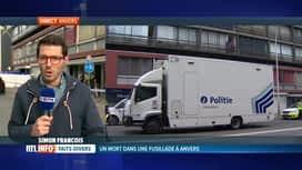 RTL INFO 19H : Eclairage sur la fusillade qui s'est produite cet après-midi à Anvers