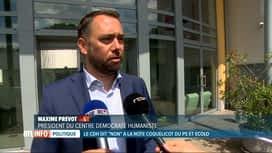 """RTL INFO 19H : Le cdH ferme la porte à une coalition """"coquelicot"""" avec le PS et Ecolo"""