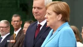 RTL INFO 13H : La chancelière Angela Merkel à nouveau victime de tremblements