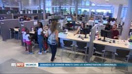 RTL INFO 13H : Gros rush pour les cartes d'identité et passeports dans les communes