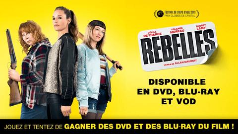 Rebelles - sortie DVD