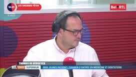 RTL INFO sur Bel RTL : RTL Info 18h du 10/07