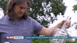 RTL INFO 19H : Sécheresse: accumulation d'un retard de précipitations jamais compensé