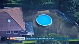 RTL INFO 13H : L'ONE suspend l'activité d'une crèche après la noyade d'une fillette