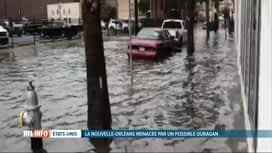 RTL INFO 13H : La Nouvelle-Orléans, déjà inondée, menacée par un possible ouragan