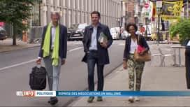 RTL INFO 19H : Négociations wallonnes : PS, Ecolo et MR se sont réunis