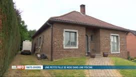 RTL INFO 19H : Noyade d'une fillette à Jupille : le parquet ouvre une enquête