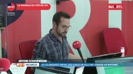 RTL INFO sur Bel RTL : RTL Info 8h du 12/07
